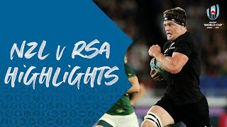 HIGHLIGHTS: New Zealand 23-13 South Africa - Rugby World Cup 2019