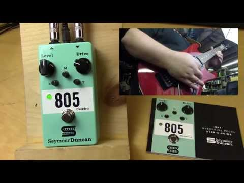 Seymour Duncan 805 Overdrive - Check it out!