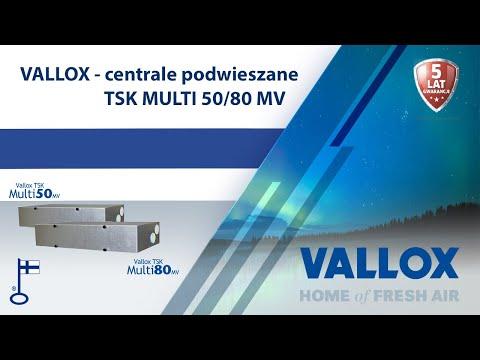 Centrala Vallox TSK Multi i mieszkanie w bloku