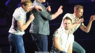 Westlife full medley birmingham 04-06-12 (Nicky focused)
