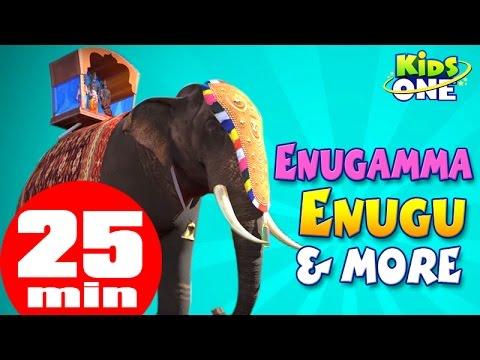 Enugamma Enugu | Chitti Chilakamma & more Nursery Rhymes Collection for Children | KidsOne