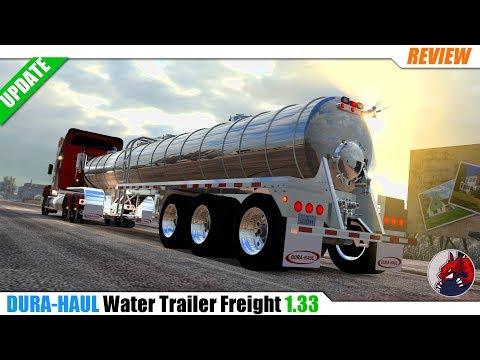 Durahaul Water Trailer Freight 1.33.x