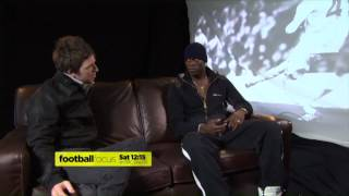 Noel interviews Mario Balloteli for Football Focus