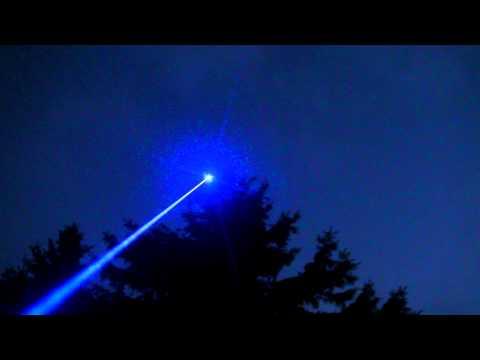 1W Blue Laser Skyshot