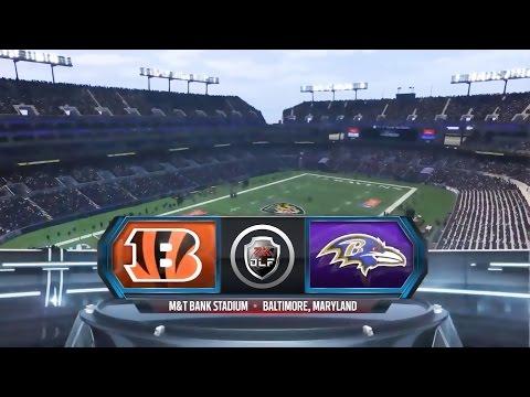 Season 5 – Week 1: Cincinatti Bengals vs Baltimore Ravens