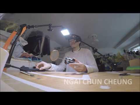 Citronic Shock Mount Pop Screen, Unboxing 161119 (видео)