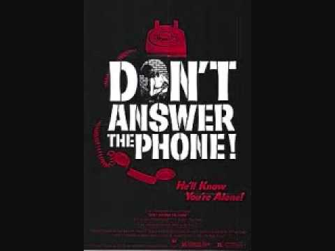 Don't Answer the Phone (1980) - Rare Telephone Message Promo