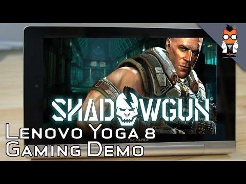 Lenovo Yoga 8 Tablet Gaming Test - MediaTek 8125 Quad Core