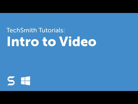 Snagit 13: Intro to Video