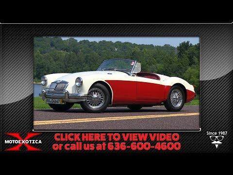 1955 MG MGA Mk. I Roadster (SOLD)