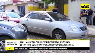 Hallan vehículo de presunto asesino de mujer calcinada