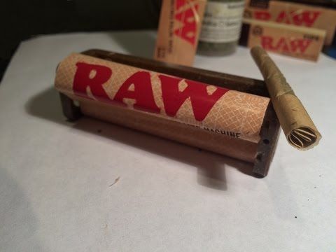 Raw 79mm Joint rolling machine - Unboxing, review, and the perfect joint!