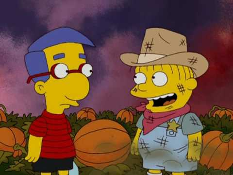 The Simpsons Waiting for the Pumpkin