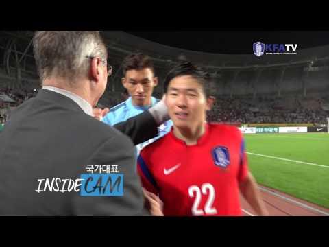 [국대INSIDECAM] 라오스전 에피소드2. 경기 후 승리의 기분을 만끽하는 선수들