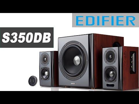 Обзор Edifier S350DB. Конструкция и особенности (видео)