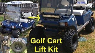 8. Golf Cart Lift Kit Install