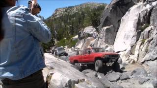 HMONG 4X4 Rubicon trail run, fun times 7-12-2014