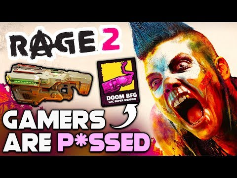 GAMERS ARE NOW PISSED AT BETHESDA AND RAGE 2 - BUT SHOULD YOU BE?