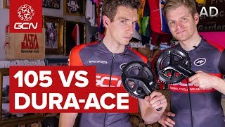 Video Shimano 105 Vs Shimano Dura-Ace | What's The Difference? MP3, 3GP, MP4, WEBM, AVI, FLV Juli 2019