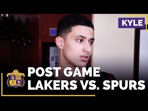 Kyle Kuzma Jokes Around About Bad Passes From KCP & Lonzo Ball