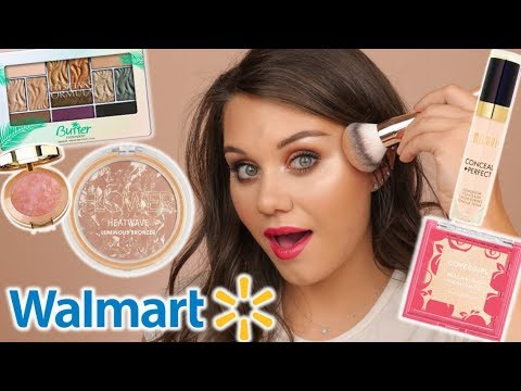 FULL FACE OF WALMART MAKEUP | TESTING NEW PRODUCTS 😍