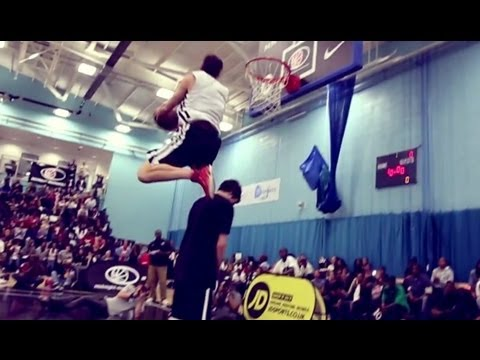 MAD sick basketball dunk contest in London!