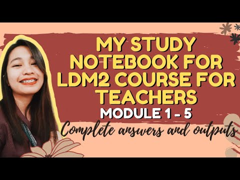 STUDY NOTEBOOK FOR LDM2 COURSE - COMPLETE ANSWERS AND OUTPUTS FOR MODULE 1-5