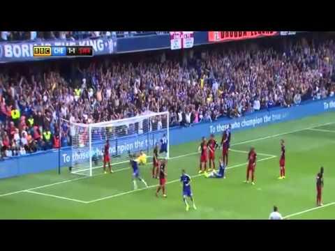Chelsea - 2014 chelsea wins against Swansea City.