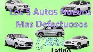 Los 5 Autos Nuevos Mas Defectuosos *CarsLatino* full download video download mp3 download music download