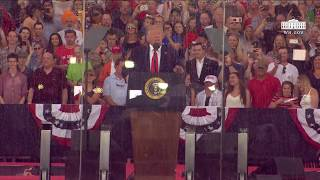 President Trump Delivers Remarks at Salute to America