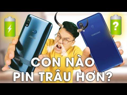 Galaxy M20 vs Zenfone Max Pro M2: THÁNH NÀO PIN TRÂU HƠN? - Thời lượng: 10 phút.