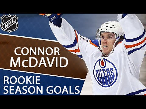 Video: Every goal from Connor McDavid's rookie season | NHL | NBC Sports