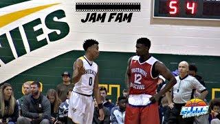 Zion Williamson DROPS 46 vs. Jalen Lecque! Jam Fam Battle