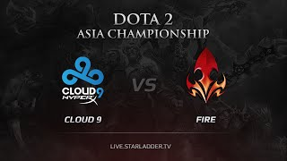 Cloud9 vs Fire, game 3