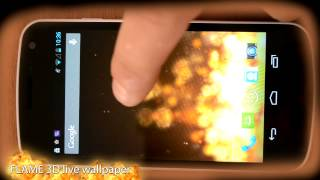 Flame 3D Live Wallpaper YouTube video