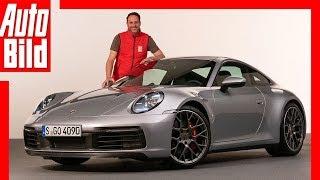 Porsche 911/992 (2018) Vorstellung / Sitzprobe / Review by Auto Bild