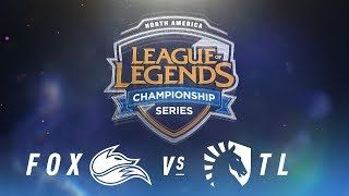 Video FOX vs. TL - Week 6 Day 2 | NA LCS Spring Split | Echo Fox vs. Team Liquid (2018) MP3, 3GP, MP4, WEBM, AVI, FLV Juni 2018