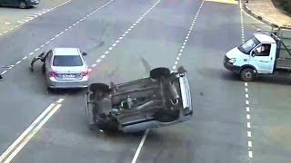 Crazy Russian Drivers - Car Crashes JANUARY / FEBRUARY 2014