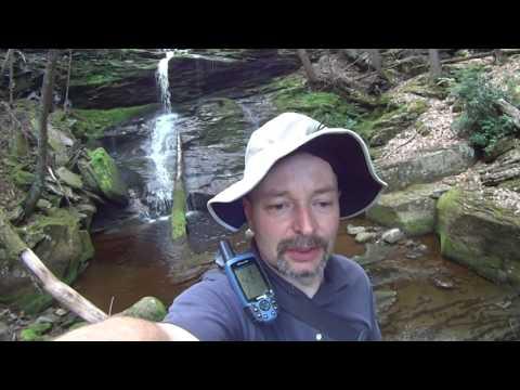 Fishing in Catskill Park, Waterfalls.  Map link below