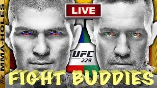 🔴 UFC 229 CONOR MCGREGOR vs KHABIB NURMAGOMEDOV + TONY FERGUSON VS ANTHONY PETTIS LIVE REACTION!