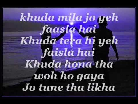 Video Tujhe bula diya lyrics download in MP3, 3GP, MP4, WEBM, AVI, FLV January 2017