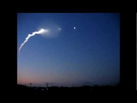 japan 2011 ufo - Japan in 2011. This video shows what is said to be a Unidentified Flying Object being fired upon by the Japanese government. Something happens to the missile...