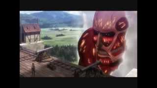 進擊的巨人-超大型巨人出現
