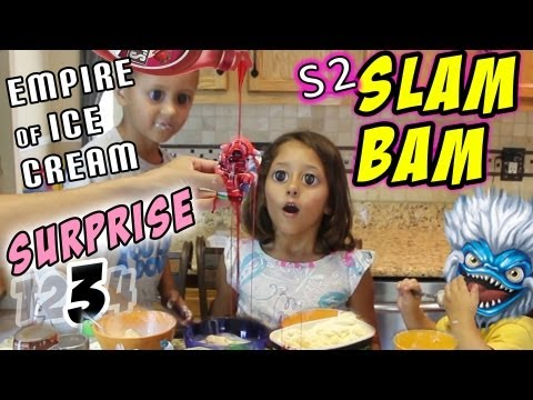 Slam Bam Surprise - Empire of Ice Cream (pt. 3 of 4) Having Fun with Skylanders Giants