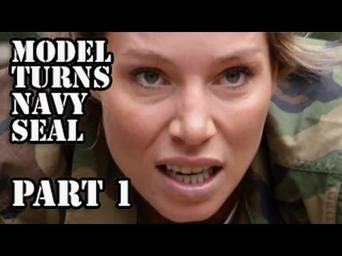navy - Watch Lauren Berlingeri, model and host of Woman v. Workout, train with former Navy SEALs at Extreme SEAL Experience in Chesapeake, VA. Watch Part 2: http://...