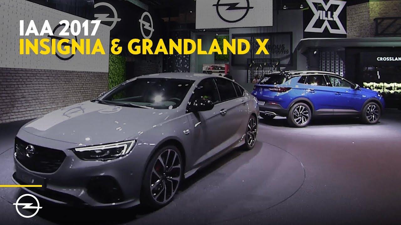 IAA 2017 | Best-Of Opel Highlights | Grandland X + Insignia