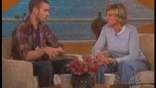 Justin Timberlake on Ellen 2003- part 1