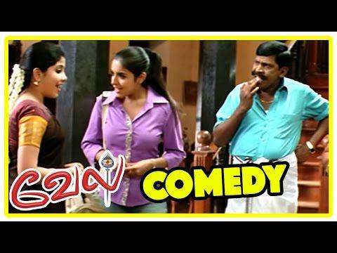 Video Vel Movie comedy scenes | Vel | Surya & Asin Galatta Comedy scene | Surya | Vadivelu | Asin download in MP3, 3GP, MP4, WEBM, AVI, FLV January 2017