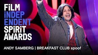 Andy Samberg   Breakfast Club in memoriam tribute   2018 Film Independent Spirit Awards