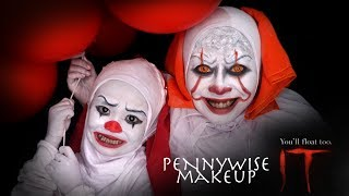 Video Pennywise IT Makeup Tutorial 2017 by Inivindy MP3, 3GP, MP4, WEBM, AVI, FLV Juni 2018